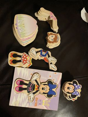 Minnie Mouse and Sophia puzzle pieces delivery for Sale in Los Angeles, CA