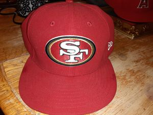San Francisco 49ers New Era fitted hat size 7 and 1/2 for Sale in Kent, WA