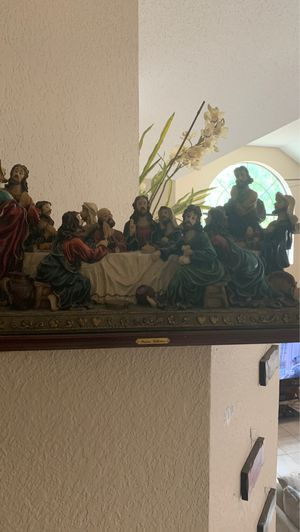 The last supper collectible big figurine. for Sale in Crowley, TX