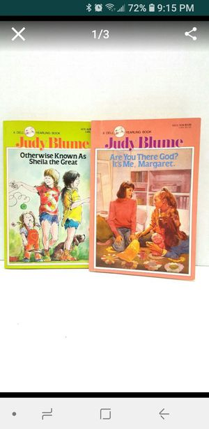 2 Vintage Judy Blume books $5 for Sale in Colton, CA