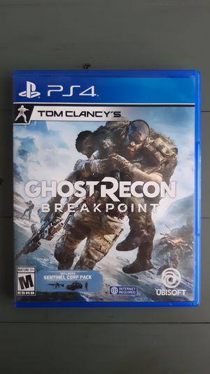 Ghost Recon Breakpoint for Sale in Whittier, CA