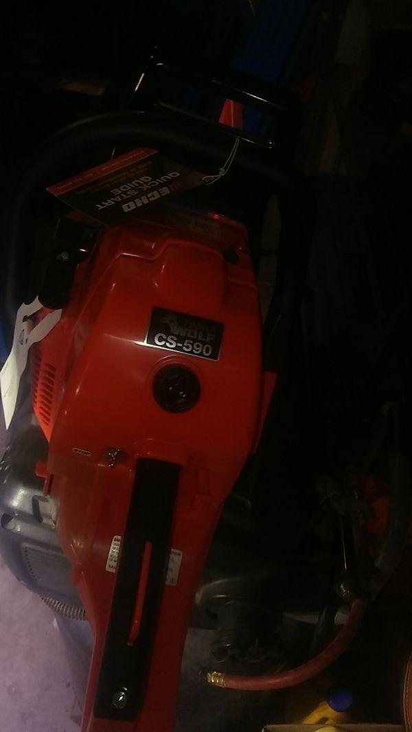 "20"" ECHO GAS CHAINSAW CS 590"