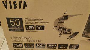 Panasonic 50 inch Viera TV for Sale in Fairburn, GA