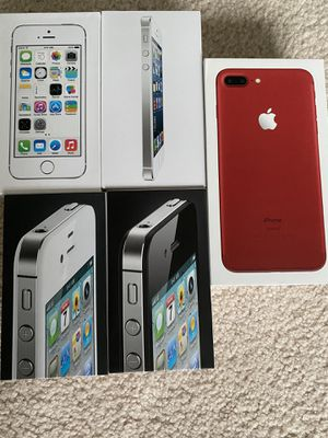 5 Apple iPhones boxes for Sale in HOFFMAN EST, IL