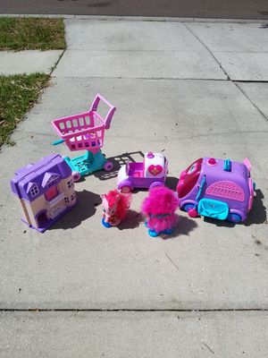Assorted Toys - Doc McStuffins, My Little Pony, Trolls, Dollhouse for Sale in Riverview, FL