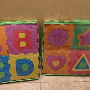 Kids Baby Tiles Squares Play Mat - Alphabet / Letters / Numbers for Sale in Gardena, CA