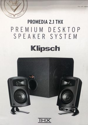 Promedia 2.1 THX Speaker for Sale in Phoenix, AZ