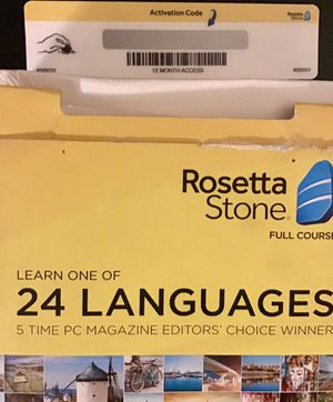Rosetta Stone for Sale in Lake Oswego, OR