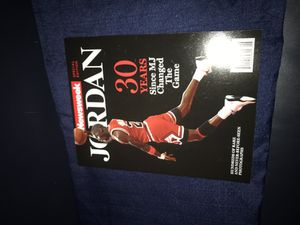 Michael Jordan Newsweek Commemorative (30 Years Since MJ Changed The Game) for Sale in Fairfax, VA
