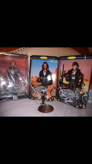 Harley Davidson Limited Edition Barbie and Ken for Sale in Austin, TX