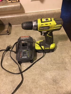 Drill and charger for Sale in Stone Mountain, GA