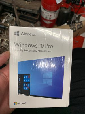 Windows 10 Pro operating system usb w/code for Sale in San Francisco, CA