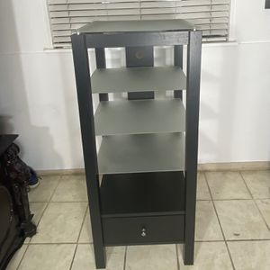 Curio Cabinet - Storage Cabinet - Glass Shelves for Sale in Houston, TX