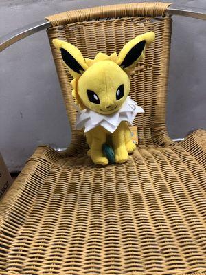 Jolteon Pokemon stuffed animal for Sale in Los Angeles, CA