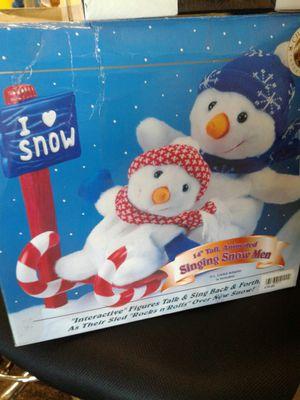 Singing Snowmen for Sale in Stockton, CA