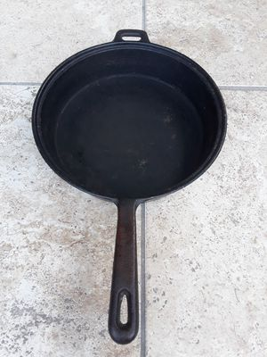 Vintage Cast Iron Frying Pan Skillet for Sale in Houston, TX
