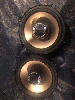 Pair of Polk audio 5 1/4 coaxial speakers for Sale in Waterford Township, MI