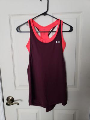 Under Armour women tank tops with built in bra for Sale in Brick Township, NJ