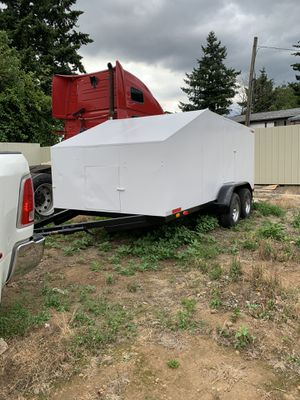 2016 Double axle trailer for Sale in Portland, OR