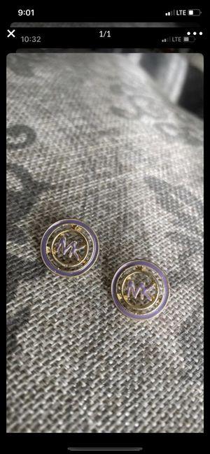Michael kors!!! Earrings new purple color!!!😍♥️ for Sale in Torrance, CA