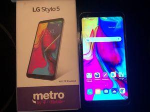 Lg Stylo 5 Metro for Sale in Visalia, CA
