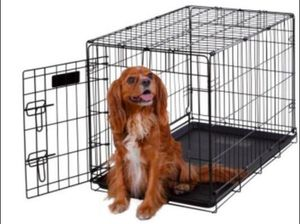 Small Metal Dog Crate - Like New for Sale in Smyrna, GA