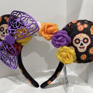 Disney Parks Coco Dia De Los Muertos Minnie Ears for Sale in Santa Clarita, CA