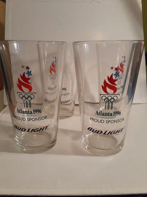 4 collectible glasses Atlanta 1996 for Sale in Miami, FL