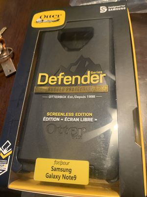 Samsung Galaxy Note9 Otter Box Defender Phone Case for Sale in Gilbert, AZ