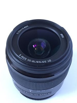 Sony A-Mount DT 18-55mm lens for Sale in Portland, OR