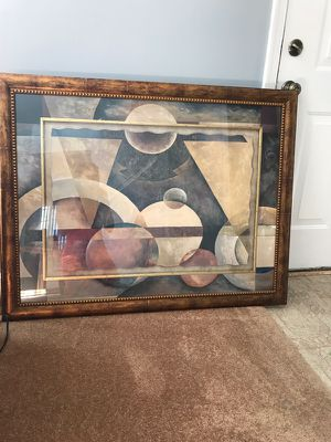 Framed Abstract Wall Art for Sale in Upper Marlboro, MD