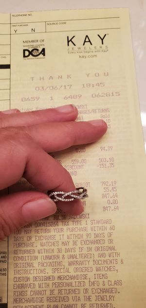 Wedding band & engagement ring for Sale in Vero Beach, FL