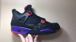 Jordan 4 retro raptors (Size 11) for Sale in Las Vegas, NV