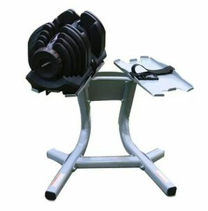 DUMBBELLS AND STAND INCLUDED for Sale in Rancho Cucamonga, CA