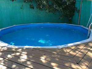 Pool 15' round above ground for Sale in Queens, NY