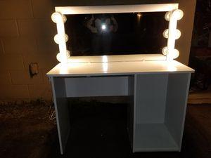 Vanity makeup table for Sale in Glendale, AZ