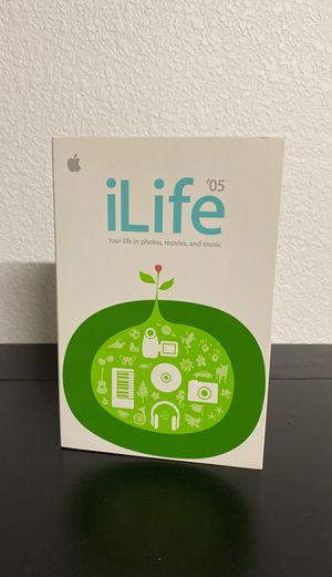 Apple iLife '05 Software for Mac - Original Box and Software for Sale in Gilbert, AZ
