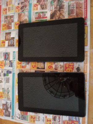 Amazon kindle fire tablets work like brand new. 1 for $45 or both for $90 for Sale in Lorton, VA