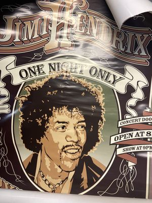 Jimi hendrix poster new for Sale in Millbrae, CA