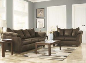 Brand New (Sofa + Love Seat) ONLY $54 DOWN for Sale in Dallas, TX