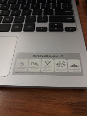 Acer Convertible Chromebook for Sale in Hightstown, NJ
