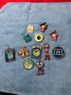 Disney Pins Monster's Inc for Sale in Pomona, CA