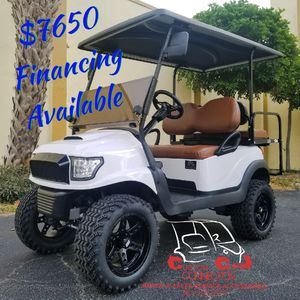 2014 Club Car Precedent Golf Cart with White Alpha Body Kit for Sale in US