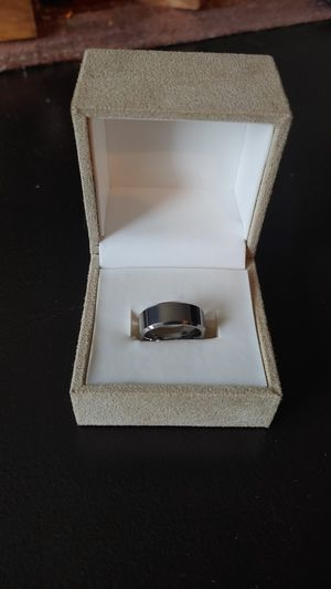 New Tungtanium Ring with High Polish (Men's Wedding Band) for Sale in Gahanna, OH