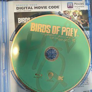 Blu-Ray Birds Of Prey for Sale in Lakewood, CA