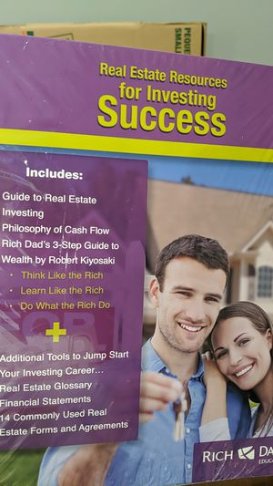 Guide to Real Estate Investing Rich Dad Education Training materials for Sale in Long Beach, CA