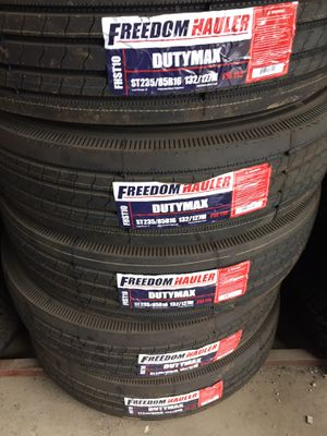 St235/85/16 (14PLY) ALL STEEL TRAILER TIRES for Sale in Arlington, TX