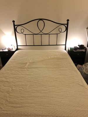 Full Size Frame/Box spring/Mattress for Sale in Los Angeles, CA