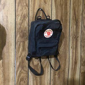 Fjallraven Kanken Mini Backpack in Black for Sale in El Monte, CA