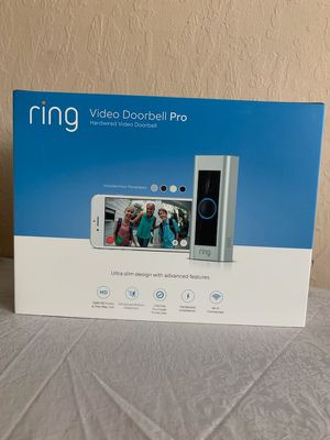 Ring Video Door Bell Pro for Sale in Stockton, CA